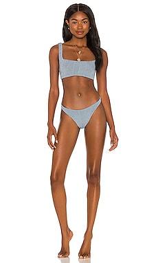 Helena Nile Bikini Set Hunza G $205