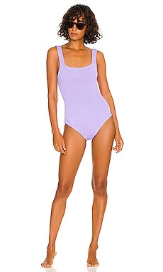 Square Neck One Piece Hunza G $205 NEW