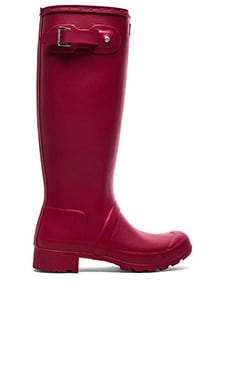 Hunter Original Packable Tour Rain Boot in Raspberry