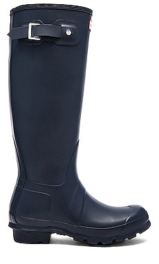Hunter Original Tall Rain Boot in Navy