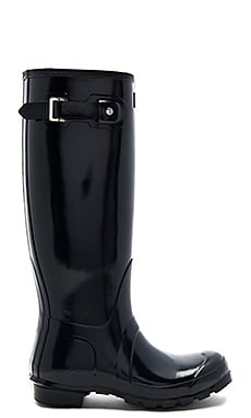 Original Tall Gloss Boot in Navy
