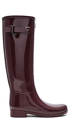 Original Refined Gloss Boot in Dulse