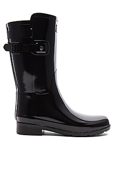 Original Refined Back Strap Short Gloss Boot Hunter $111