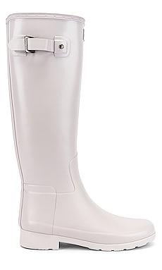 Refined Tall Matte Boot Hunter $91