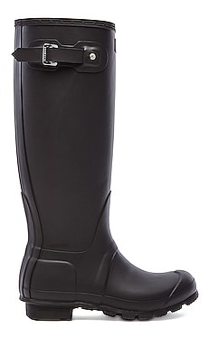 Hunter Original Tall Rain Boot in Black