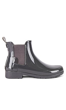 Refined Chelsea Gloss Bootie Hunter $145