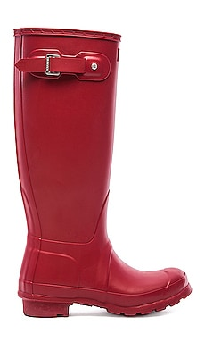 Original Tall Rain Boot in Military Red