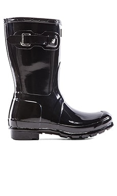 Original Short Gloss Boot in Black