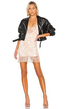 Janisa Embellished Mini Dress h:ours $308