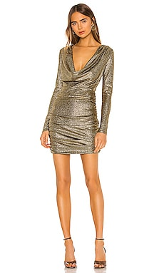 Isla Cowl Neck Dress h:ours $178