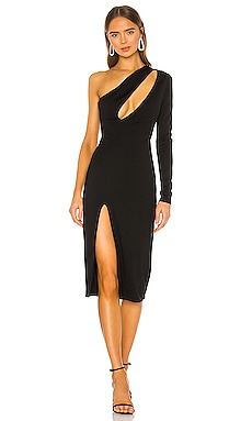 Pagne Midi Dress h:ours $145