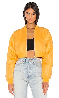 Sim Crop Bomber Jacket h:ours $178