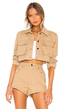 BLOUSON CROPPED UNION h:ours $188 BEST SELLER