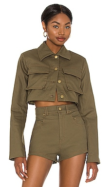 Union Cropped Jacket h:ours $188