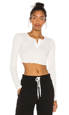 TOP CROPPED MARLEY h:ours $98 NOUVEAU