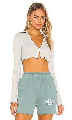 Cropped Thermal Top h:ours $98 NEW