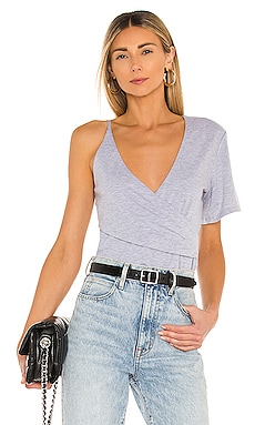 Korinne Wrap Tee h:ours $67