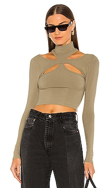 Alyson Cut Out Top h:ours $98