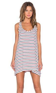 Hye Park and Lune Chloe Tank Dress in Multi Stripe