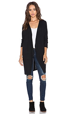 Hye Park and Lune Noah Cardigan in Real Black