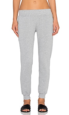 Hye Park and Lune Avery Sweatpant in Heather Grey