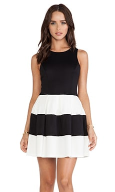 ISLA_CO Miss Totally Dress in Black & White