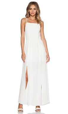 ISLA_CO Fondest Dreams Maxi Dress in White