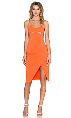 Vivid Dress in Orange