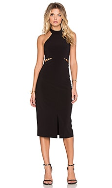 ISLA_CO The Avenue Dress in Black