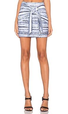 ISLA_CO Kashmir Mini Skirt in Multi