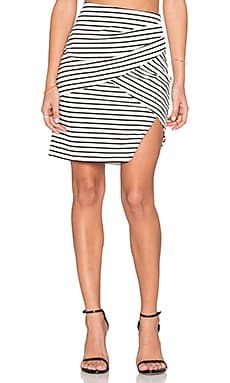 ISLA_CO Allure Skirt in Stripe