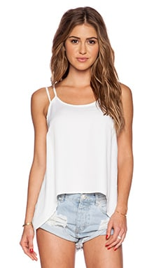 ISLA_CO Flipside Tank in White