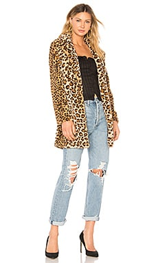 Sahara Faux Fur Coat I.AM.GIA $100 BEST SELLER