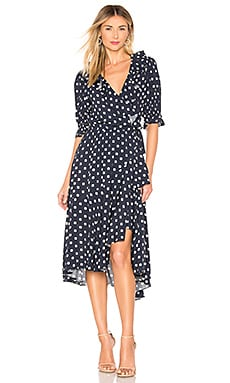 The Cha Cha Wrap Dress ICONS Objects of Devotion $174 (FINAL SALE)