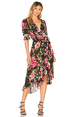 The Cha Cha Wrap Dress ICONS Objects of Devotion $192