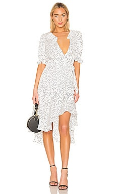 Cha Cha Wrap Dress ICONS Objects of Devotion $256