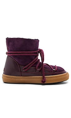 Sneakers Classic Boot with Lambskin en Figue