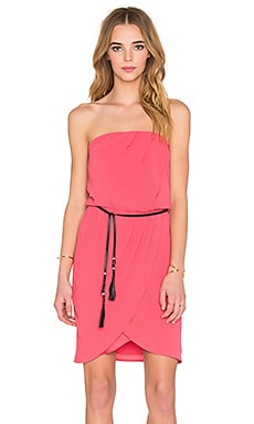 Bustier Mini Dress en Rose Indien