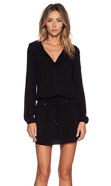 IKKS Paris Longsleeve Dress in Black