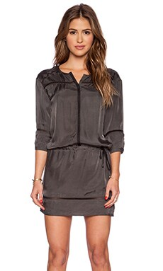 IKKS Paris Mini Dress in Gris Ardoise