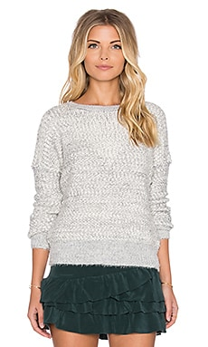 IKKS Paris Long Sleeve Sweater in Ivory