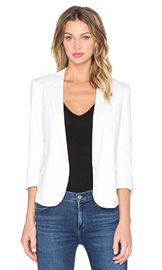 IKKS Paris Double Pocket Blazer in Blanc Casse