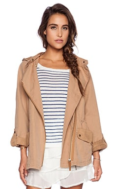 IKKS Casual Jacket in Light Brown