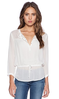 IKKS Paris Longsleeve Blouse in White