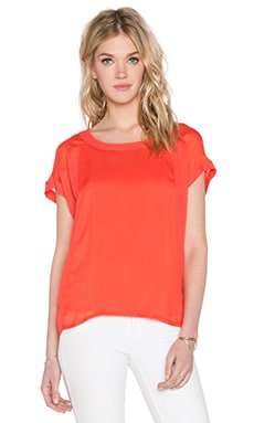IKKS Paris Shortsleeve Top in corail