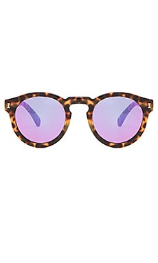 illesteva Leonard in Tortoise & Pink Mirrored