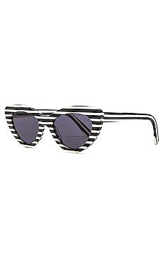 Illesteva Pamela Striped Sunglasses