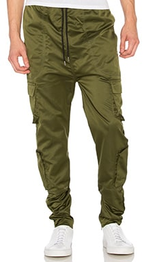 I Love Ugly Zespy Militia Pant in Forest Green