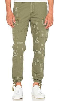 I Love Ugly Cargo Pant in Army