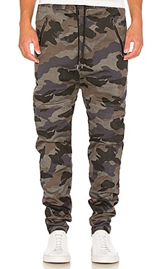 I Love Ugly Zespy Camo Pant in Black
